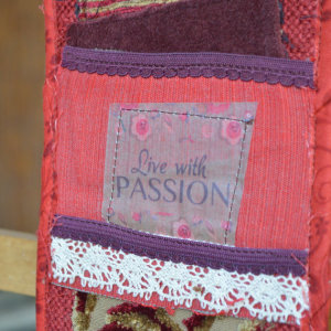 inspirational words passion art quilts